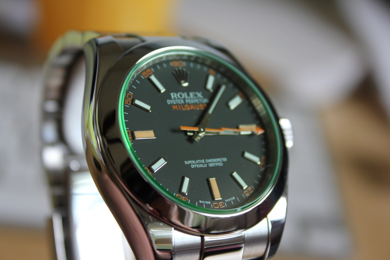 Swiss Rolex Milgauss Replica Watches For Sale